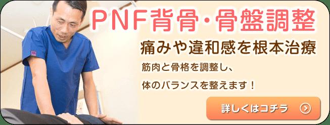 PNF背骨・骨盤矯正